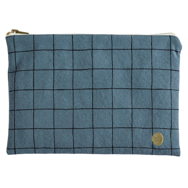 Large Check Pouch