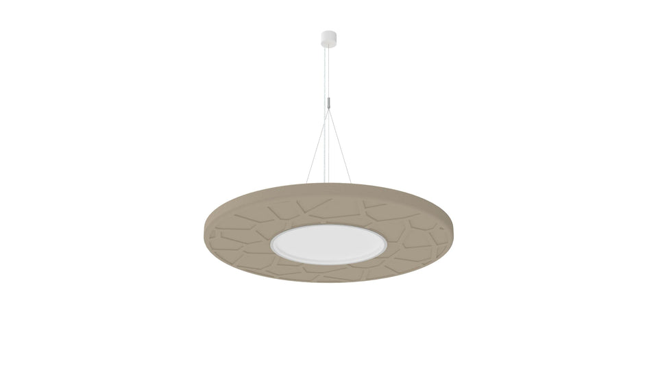 BuzziMoon Round Light Fixture