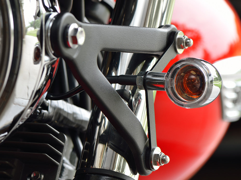 Front Turn Signal Tuck Kit - Triumph Truxton | K-Town Speed Shop - Precision Motorcycle Accessories
