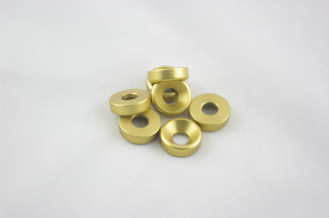 GOLD M8 OR M6 FLAT HEAD FLUSH WASHER- HONDA RUCKUS