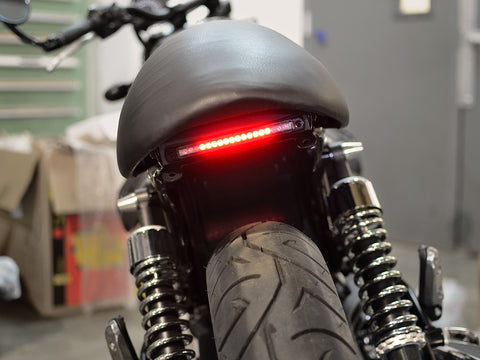 K-TOWN FENDER ELIMINATOR WITH BRAKE AND TURN SIGNALS - Moto Guzzi V7