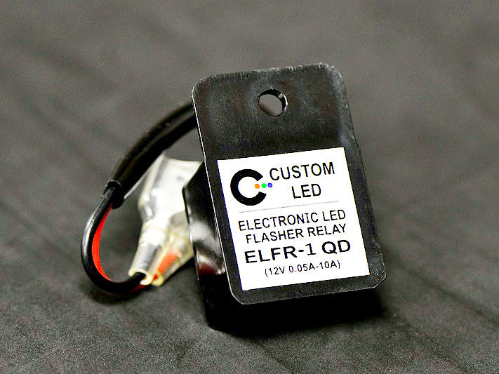 Universal Electronic Flasher Relay Unit | K-Town Speed Shop - Precision Motorcycle Accessories