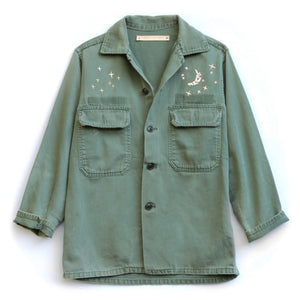 Bliss and Mischief x LEUNE Vintage Army Jacket