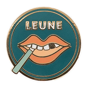 LEUNE Lips Enamel Pin