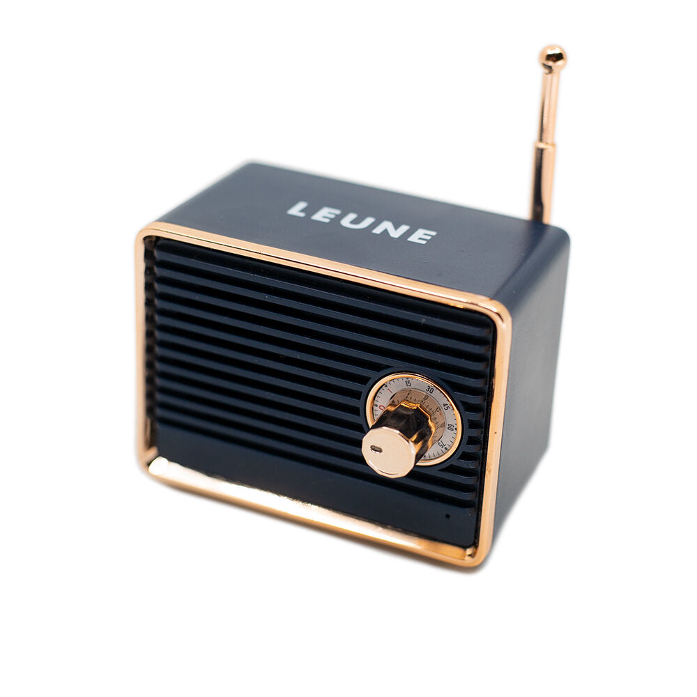 LEUNE Mini Retro Bluetooth Speaker