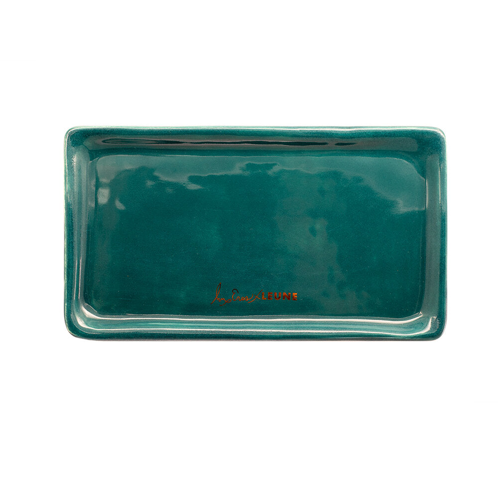 Load image into Gallery viewer, Lux Eros x LEUNE Green Rolling Tray