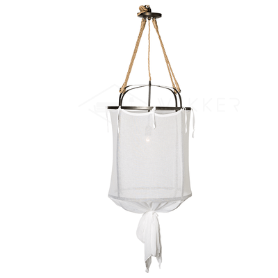 Provence Linen Pendant Light - Vakkerlighting