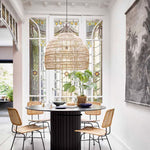 Wicker pendant lamp - Vakkerlighting