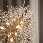 Crystal Dandelion Chandelier - Vakkerlighting