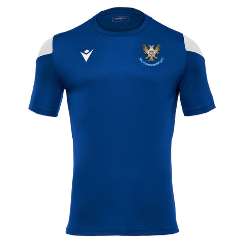 Training Polis Match Day T-Shirt Royal Senior