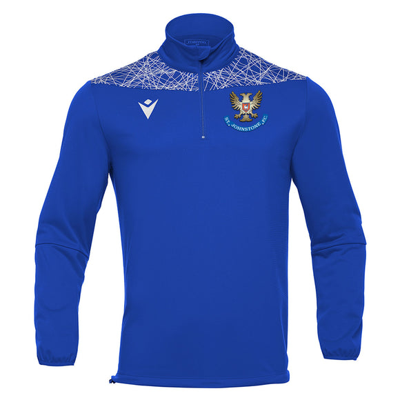 Training Tagus 1/4 Zip Top Royal Senior