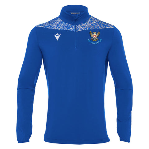 Training Tiber 1/4 Zip Top Royal Senior