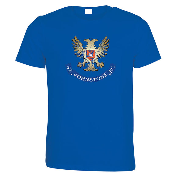 Distressed Crest T-Shirt Senior