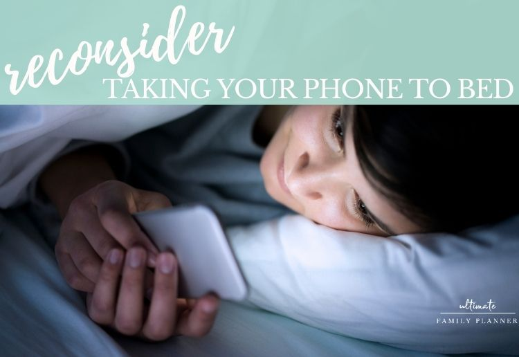 What if you didn't take your phone to bed?
