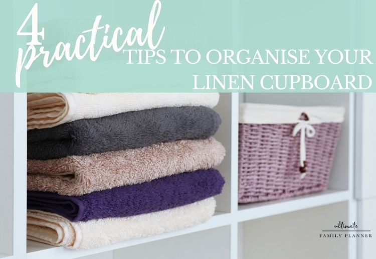 Organise your linen cupboard