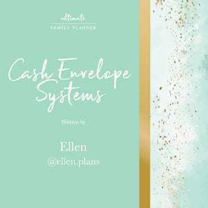 Cash Envelope Systems - with Ellen.Plans
