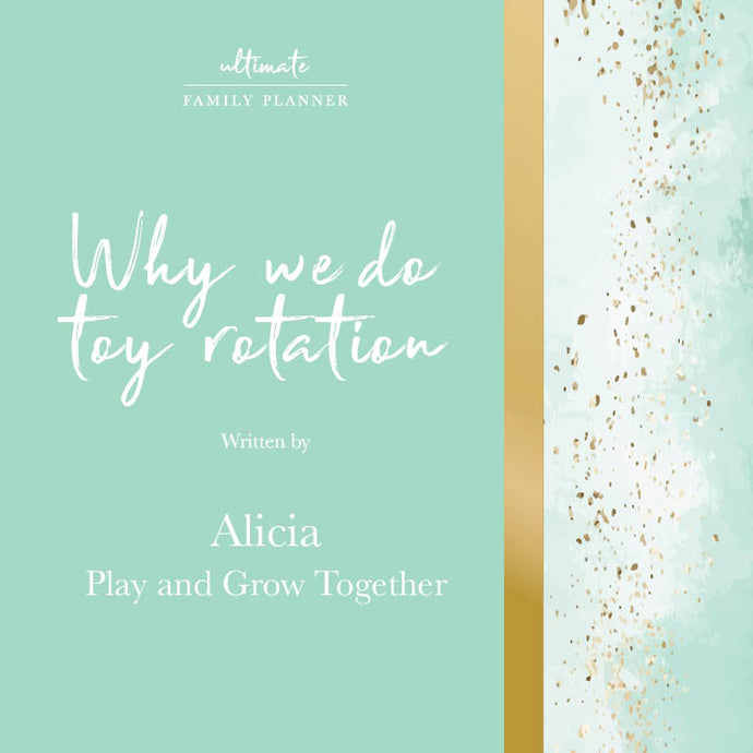 Why we do toy rotation - with Alicia from Play and Grow Together