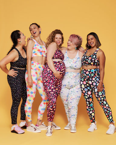 Colourful activewear to help you get moving in winter