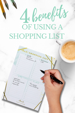 4 reasons to use a shopping list notepad designed for families best family planner