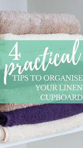 Practical tips to organise your linen cupboard