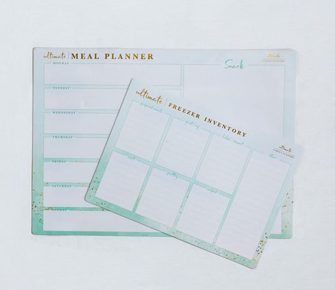 Meal Plan Magnet sets Ultimate Family Planner