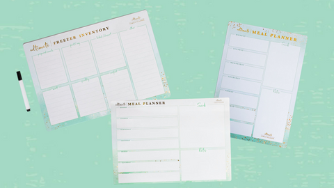 Ultimate Family Planner - Meal Planning Magnets - A4 and A3 - Horizontal and Landscape