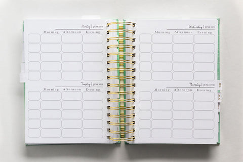 Daily Planning Pages for the whole family