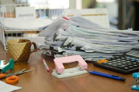 How to purge paper clutter for good
