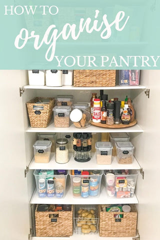 tips on how to organise your family pantry
