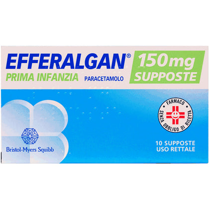 EFFERALGAN 10 SUPPOSTE 150MG