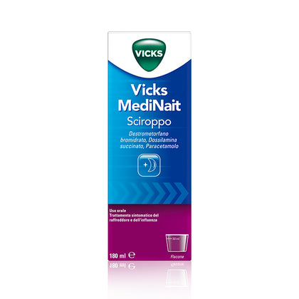 VICKS MEDINAIT SCIROPPO 180ML