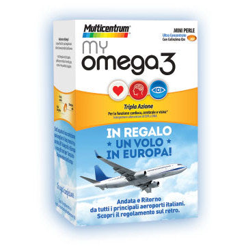MULTICENTRUM MY OMEGA3 120 MINI PERLE