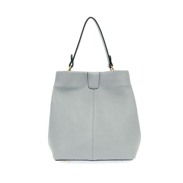 Ava Convertible Shoulder Bag- Light Blue