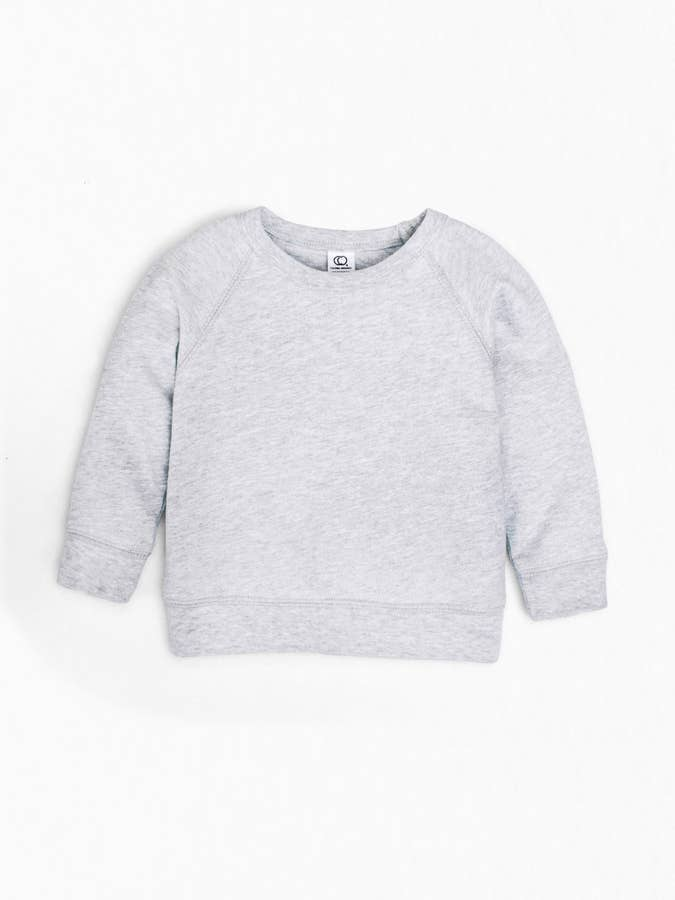 Brooklyn Pullover- Heather Grey