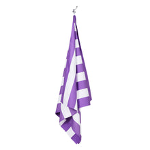 "Load image into Gallery viewer, Quick Dry ""Cabana Towel""- Brighton Purple (XL)"