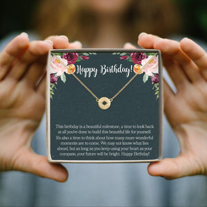 Birthday Necklace- Gold