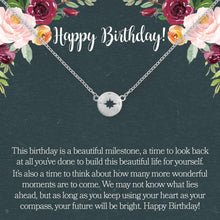 Load image into Gallery viewer, Birthday Necklace- Silver