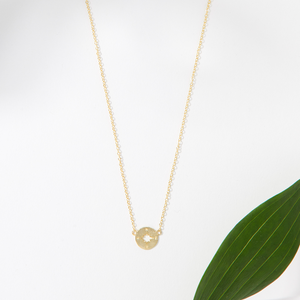 Teacher Necklace-Gold