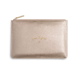 Just Married Perfect Pouch