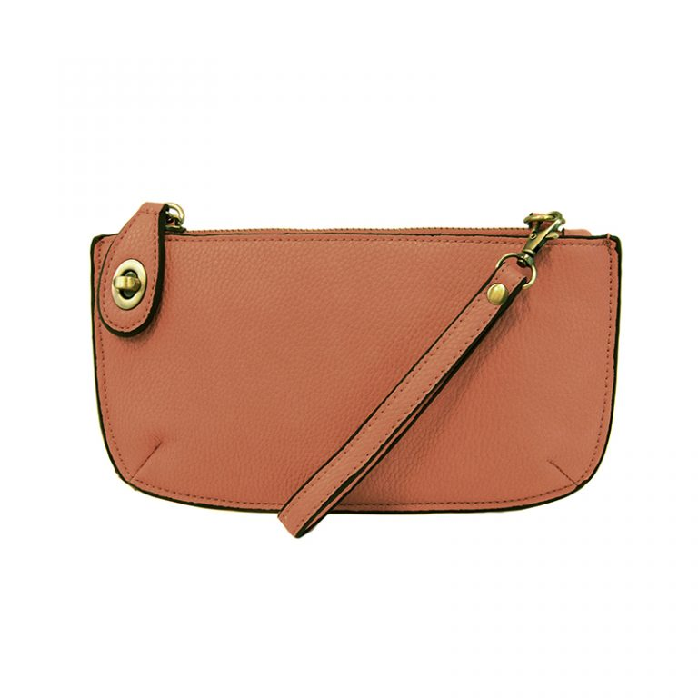 Mini Crossbody Wristlet Clutch- Sunset