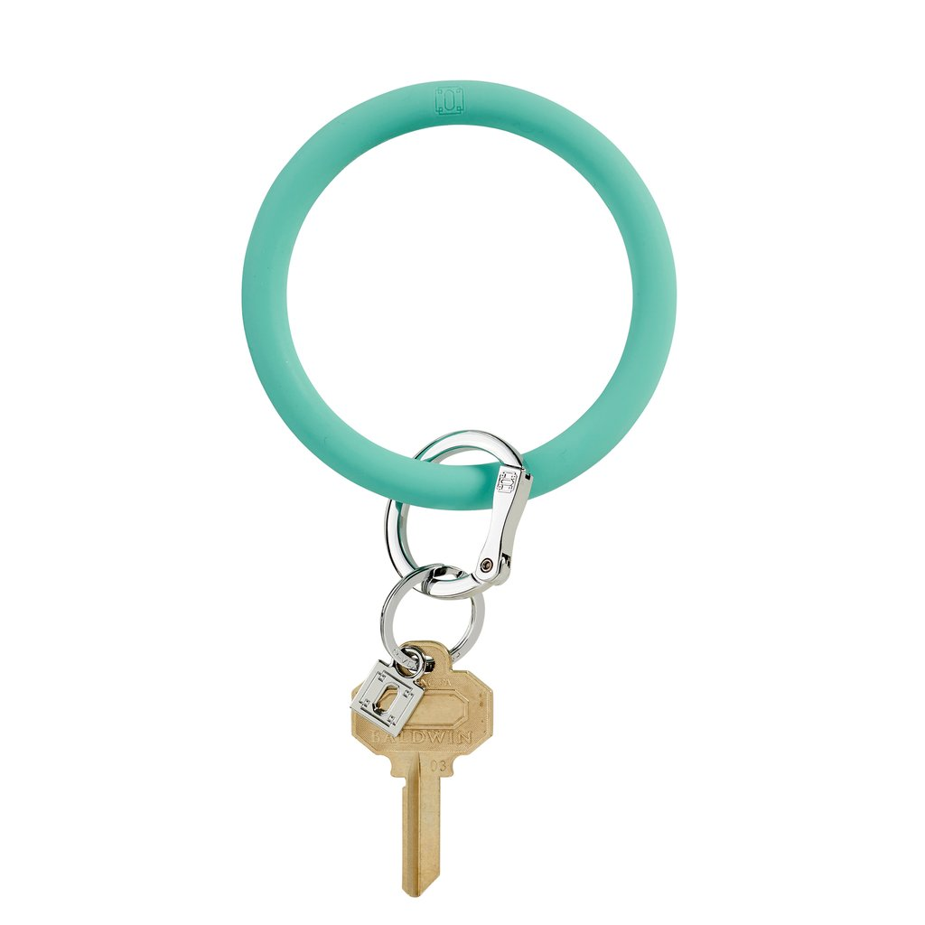 Big O Silicone Key Ring- In the Pool