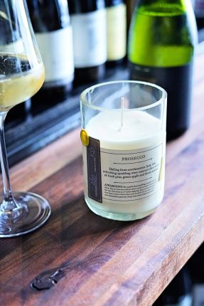 Rewined Prosecco Candle
