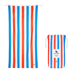 "Quick Dry ""Cabana Towel""- Summer Days (XL)"
