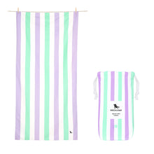 "Load image into Gallery viewer, Quick Dry ""Cabana Towel""-Lavender Fields (XL)"