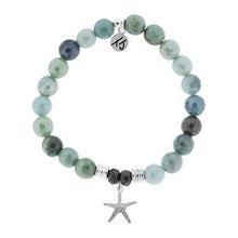 Load image into Gallery viewer, TJ Beaded Bracelet-Amazonite with Starfish