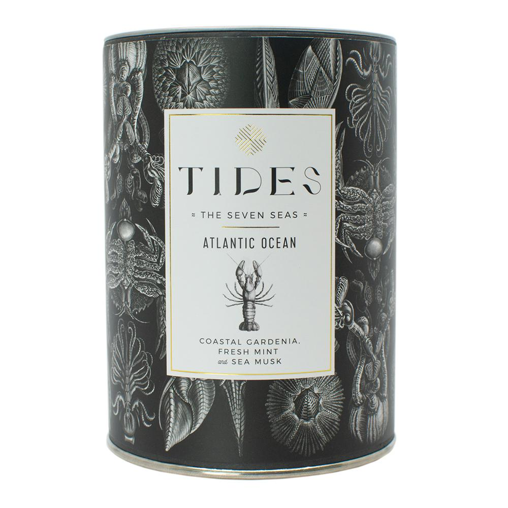 Tides I Seven Seas I Atlantic Ocean Candle- 11oz..
