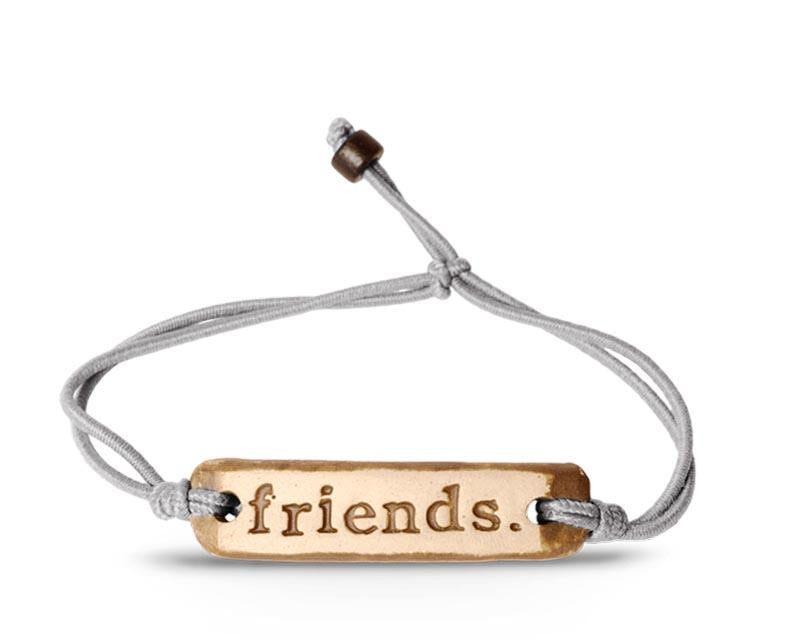 Friends Bracelet- Grey
