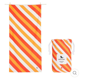QUICK DRY BEACH TOWEL - SWAY COLLECTION- INDIAN SUMMER (XL)
