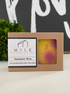 Cold Pressed Soap - Remember When