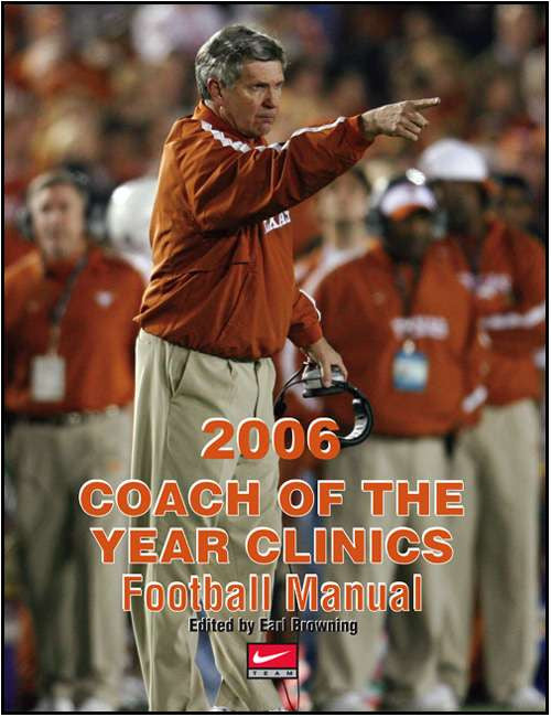 2006 Coach of the Year Clinics Football Manual